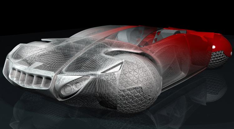 3D MODELING & SPECIAL EFFECTS – Concept Car   MIHAI MANEA
